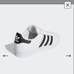 Authentic Adidas Superstar Sneakers